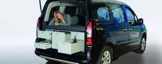 VanEssa Mobilcamping - Camping Ausbau für Deinen Van - T5, T6, Mercedes u.v.m.-Vanessa Mobilcamping - Campingausbau für deinen Peugeot Partner u.v.a. Vans Peugeot, T5, Partner, Camper, Vans, Vehicles, Caravan, Travel Trailers, Van