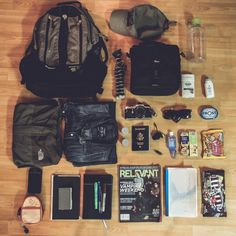 Mountain Hardwear Enterprise backpack Patagonia cap Nalgene bottle Everyday (1l/32oz) Joby Gorillapod Lowepro Nova 140 (or 160) AW Tom'...