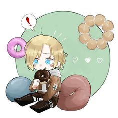 Annie Leonhart, Attack On Titan Anime, Lost Girl, Armin, Chibi, Sketches, Cool Stuff, Animals, Fictional Characters