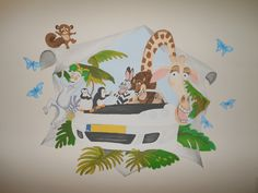 muurschildering madagascar 5