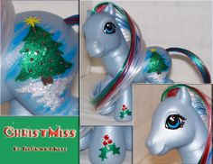 "Custom MLP ""ChristMiss"" by TheCrownOfJules on deviantART"