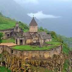 Beautiful! I was there 3 months ago! Tatev Monastery!