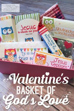 Looking for something special for Valentine's day this year? Everything you need to make a sweet memory in your child's heart is included! This valentine's basket of God's love will absolutely thrill them. Not to mention, remind them of how truly loved they are! Free printables included. Valentines Day Baskets, Valentines Day Activities, Valentine Day Love, Valentines Day Party, Valentine Crafts, Valentine Ideas, Valentines For Kids, Holiday Crafts, Holiday Fun