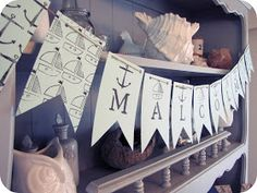 My House of Giggles: A Nautical Baby Boy Shower for Malcolm
