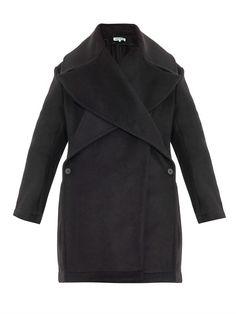 Kenzo Oversized wool-blend coat