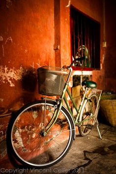 Old Bike in Saigon, Vietnam