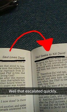 saul loves / seeks to kill david escalated quickly