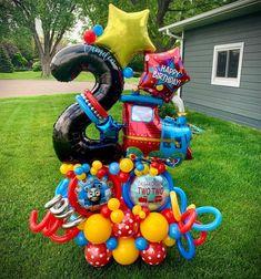 Balloon Decorations Party, Thomas The Train, Balloon Bouquet, Birthday Balloons, Camden, Mj, Happy Birthday, Instagram, Design