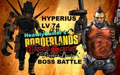 Borderlands 2-Captain Scarlett DLC Hyperius LV 74 Raid Boss Battle-Solo ...