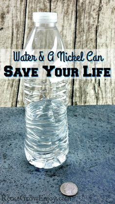 Did you know that something as simple as water and a nickel can save your life? Click over to Learn How Water And A Nickel Can Save Your Life.