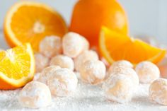 Mmmm! Orange Creamsicle Truffles.