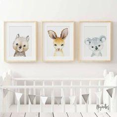 Nursery Prints, Nursery Art, Nursery Decor, Nursery Ideas, Australian Animals, Australian Nursery, Baby Milestone Cards, Unique Animals, Animal Nursery