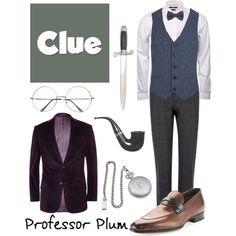 """Professor Plum 2 - Clue"" by b-scottyer on Polyvore"