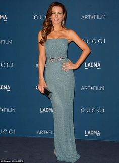 Best dressed - Kate Beckinsale in a Gucci gown @ 2013 LACMA Art + Film Gala