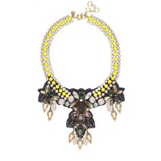Citron stone necklace