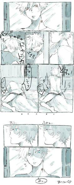 Bakugou Katsuki × Todoroki Shouto