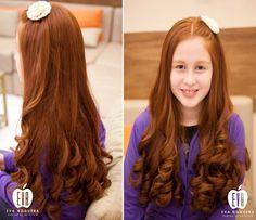 Pelo rojo Ondas / Red Hair Waves