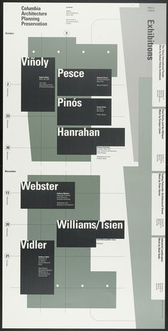 Willi Kunz – Columbia University, Graduate School of Architecture, Planning and Preservation Lecture Series Fall 1996