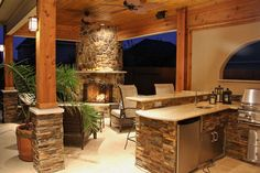 Amazing Outdoor Kitchens - Style Estate - #outdoorLiving