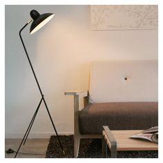 Arles Floor Lamp Black