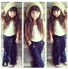 Cute little girl clothes!! i had those pants! remember those @Autumn Eaken Eaken Eaken Eaken Uhlin