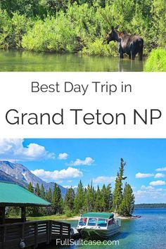 Day in Grand Teton National Park – Jenny Lake Boat and Hike Best day trip in Grand Teton National Park, WY, USABest day trip in Grand Teton National Park, WY, USA Us National Parks, Grand Teton National Park, Yellowstone National Park, Alaska Travel, Travel Usa, Alaska Cruise, Yellowstone Vacation, Wyoming Vacation, Tennessee Vacation