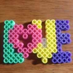 Love hama beads by hamabeads392