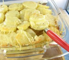 Bistro Style French Potatoes Gratin Dauphinois