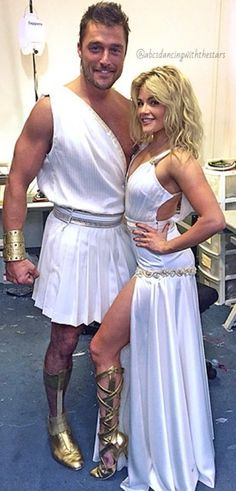 """Dancing With the Stars - Chris & Whitney danced to a tune from """"Hercules"""" - Season 20 - week-5 Disney Night - Spring 2015"""
