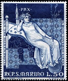 San Marino Stamp 1969 - Peace
