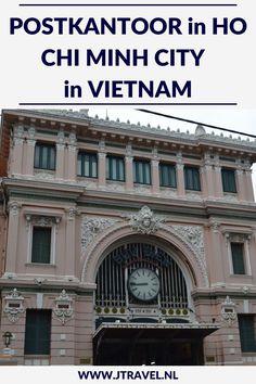 Het Centrale Postkantoor van Ho Chi Minh City is een klassiek koloniaal gebouw en één van de oudste gebouwen en mooiste gebouwen van de stad. Het gebouw valt op door zijn unieke architectuur met kubusvormen en bogen op de deuren. Meer lezen, kijk dan op mijn website. #postkantoor #hochiminhcity #saigon #vietnam #jtravelblog #jtravel Ho Chi Minh City, Vietnam, Louvre, Building, Travel, Viajes, Buildings, Trips, Construction