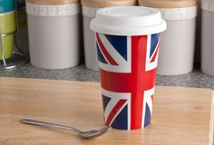 Union Jack Insulated Mug