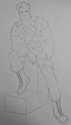 Film: Titan AE =====  Character: Korso (Design #1) =====  Costume Design #2