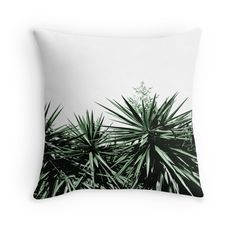 Buy Any 2 & Get 15% OFF --- Yucca Acrylic Block by ARTbyJWP from Redbubble #acrylicblock #artboard #walldeco #artprints #buyart #redbubble #artbyjwp #botanical #green #yucca  Top of yucca trees. • Also buy this artwork on wall prints, apparel, stickers, and more.T