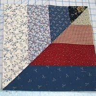 Twisted Rail Fence Quilt Blocks...The block that makes the next quilt...I think it is awesome to look at and it is very easy