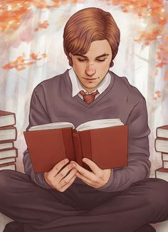 "the-marauders-era: "" Young Remus Lupin "" What you think he's doing: Homework or studying for his next test. What he's actually doing: Research to help pull off their next epic prank. ""I solemnly swear. Mundo Harry Potter, Harry Potter Ships, Harry Potter Fan Art, Harry Potter Fandom, Harry Potter Memes, Harry Potter World, Harry Potter Hogwarts, Remus And Sirius, Remus Lupin"