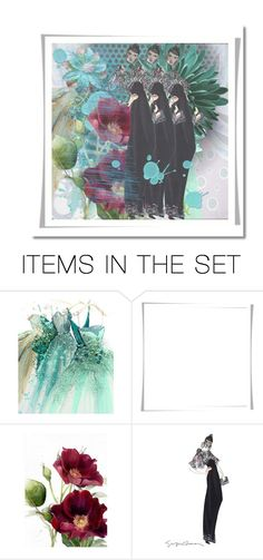 """Geen titel #34423"" by lizmuller ❤ liked on Polyvore featuring art"