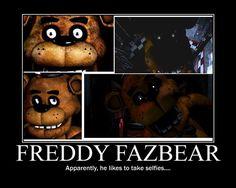 The selfie bear #fnaf #freddy