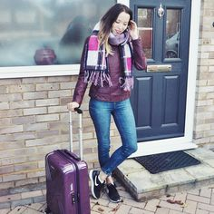 Girl In The Lens shows us what's in her Purple Vivotec case #TravelBright