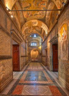 San Salvador en Chora - Exonártex. Decorado con mosaicos. Siglo XIV.
