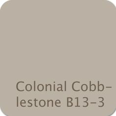 Dutch Boy Color: Colonial Cobblestone B13-3 #color #gray