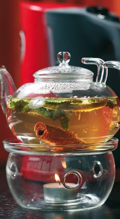 Tea Recipes, Raw Food Recipes, Good Morning Breakfast, Flower Tea, My Cup Of Tea, Smoothie Drinks, Herbal Tea, Summer Drinks, High Tea