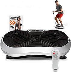 Discounted Hurtle Fitness Vibration Platform Workout Machine | Exercise Equipment For Home | Vibration Plate | Balance Your Weight Workout Equipment Includes, Remote Control & Balance Straps Included (HURVBTR30) #HurtleFitnessVibrationPlatformWorkoutMachine|ExerciseEquipmentForHome|VibrationPlate|BalanceYourWeightWorkoutEquipmentIncludes #RemoteControl&BalanceStrapsIncluded(HURVBTR30) Home Gym Exercises, Gym Workouts, Resistance Bands For Arms, Whole Body Vibration, Whole Body Workouts, Workout Machines, Exercise Machine, Sports Trainers, 3d Home