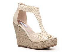 Steve Madden Rise Wedge Sandal Women's Wedge Sandals Sandals Women's Shoes - DSW