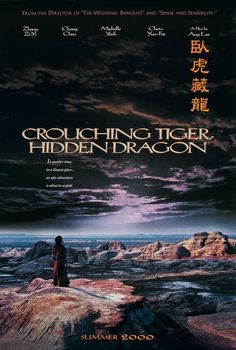 Crouching Tiger, Hidden Dragon (La tigre e il dragone - 2000): This movie is so dear to me. Love the themes of devotion in this film. Devotion to love/country/spirituality etc, etc.