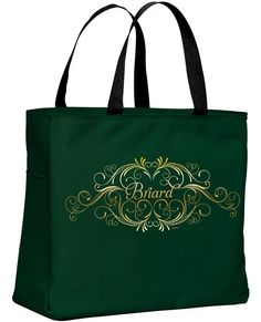 Briard Tote Bag by WryToastDesigns on Etsy, $20.00