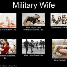 Military Wife<3