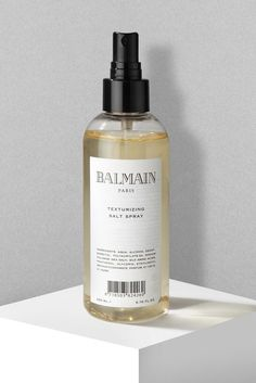 Balmain's amazing salt spray. I use this to texturize my fine hair, makes it look fuller and gives it that extra boost! Recommend!