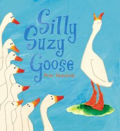 Suzy longs to be different from all the other geese, but learns that imitating a lion may not be the best way to express her individuality.