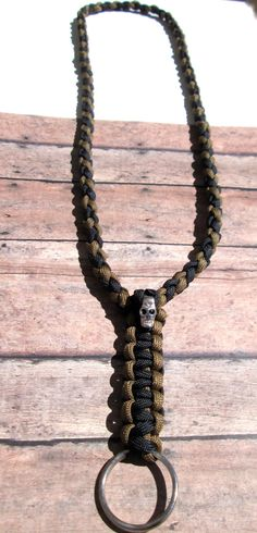 550-paracord-neck-lanyard-key-chain I think it would be great for a neck knife